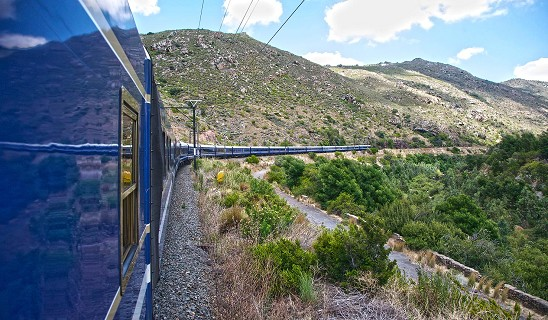 Blue Train to Cape