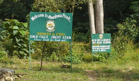 Mwanihana Peak